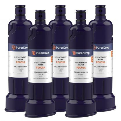 5packs f2wc911 water filter